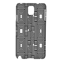 Line Hole Plaid Pattern Samsung Galaxy Note 3 N9005 Hardshell Case