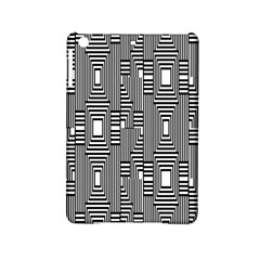 Line Hole Plaid Pattern iPad Mini 2 Hardshell Cases