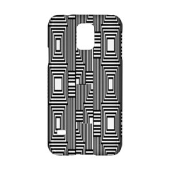 Line Hole Plaid Pattern Samsung Galaxy S5 Hardshell Case