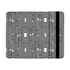 Line Hole Plaid Pattern Samsung Galaxy Tab Pro 8.4  Flip Case