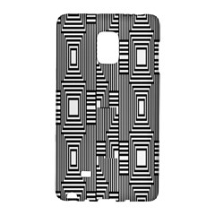 Line Hole Plaid Pattern Galaxy Note Edge