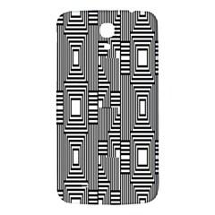 Line Hole Plaid Pattern Samsung Galaxy Mega I9200 Hardshell Back Case