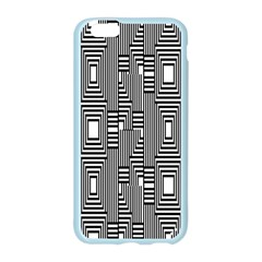 Line Hole Plaid Pattern Apple Seamless iPhone 6/6S Case (Color)