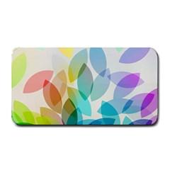 Leaf Rainbow Color Medium Bar Mats