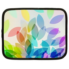 Leaf Rainbow Color Netbook Case (XXL)
