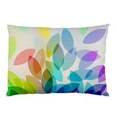 Leaf Rainbow Color Pillow Case (Two Sides)