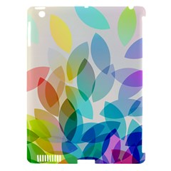 Leaf Rainbow Color Apple iPad 3/4 Hardshell Case (Compatible with Smart Cover)