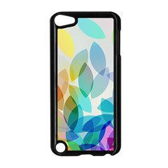 Leaf Rainbow Color Apple iPod Touch 5 Case (Black)