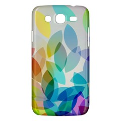 Leaf Rainbow Color Samsung Galaxy Mega 5.8 I9152 Hardshell Case