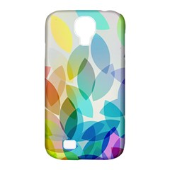 Leaf Rainbow Color Samsung Galaxy S4 Classic Hardshell Case (PC+Silicone)