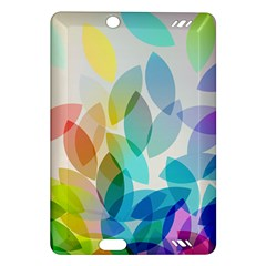 Leaf Rainbow Color Amazon Kindle Fire HD (2013) Hardshell Case