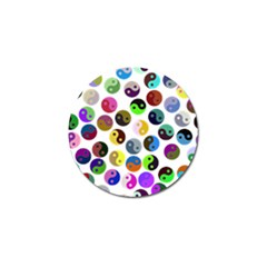 Ying Yang Seamless Color Cina Golf Ball Marker (10 pack)