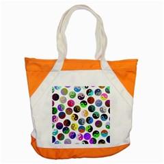 Ying Yang Seamless Color Cina Accent Tote Bag