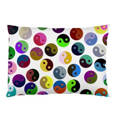 Ying Yang Seamless Color Cina Pillow Case (Two Sides)