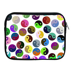 Ying Yang Seamless Color Cina Apple iPad 2/3/4 Zipper Cases