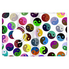 Ying Yang Seamless Color Cina Kindle Fire HDX Flip 360 Case