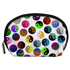 Ying Yang Seamless Color Cina Accessory Pouches (Large)