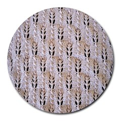 Jared Flood s Wool Cotton Round Mousepads