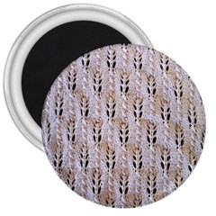 Jared Flood s Wool Cotton 3  Magnets