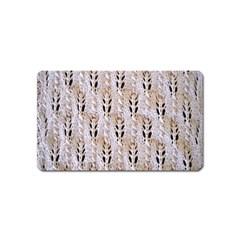 Jared Flood s Wool Cotton Magnet (Name Card)