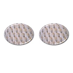 Jared Flood s Wool Cotton Cufflinks (Oval)