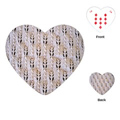 Jared Flood s Wool Cotton Playing Cards (Heart)