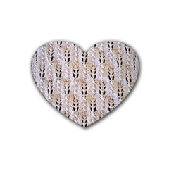 Jared Flood s Wool Cotton Heart Coaster (4 pack)
