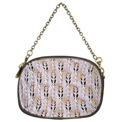 Jared Flood s Wool Cotton Chain Purses (Two Sides)