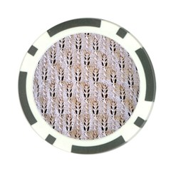 Jared Flood s Wool Cotton Poker Chip Card Guard (10 pack)