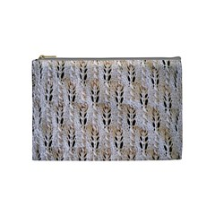 Jared Flood s Wool Cotton Cosmetic Bag (Medium)