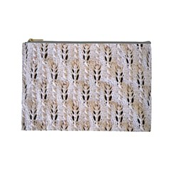 Jared Flood s Wool Cotton Cosmetic Bag (Large)