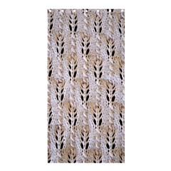 Jared Flood s Wool Cotton Shower Curtain 36  x 72  (Stall)