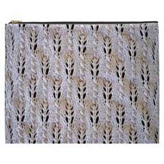 Jared Flood s Wool Cotton Cosmetic Bag (XXXL)