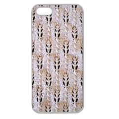 Jared Flood s Wool Cotton Apple Seamless iPhone 5 Case (Clear)