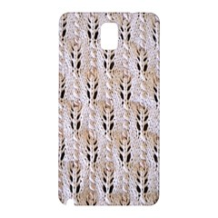 Jared Flood s Wool Cotton Samsung Galaxy Note 3 N9005 Hardshell Back Case