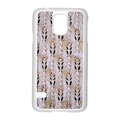 Jared Flood s Wool Cotton Samsung Galaxy S5 Case (White)