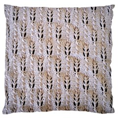 Jared Flood s Wool Cotton Large Flano Cushion Case (Two Sides)
