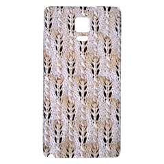 Jared Flood s Wool Cotton Galaxy Note 4 Back Case