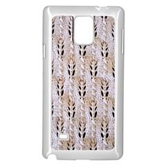 Jared Flood s Wool Cotton Samsung Galaxy Note 4 Case (White)