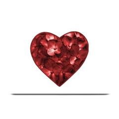 Floral Heart Shape Ornament Plate Mats