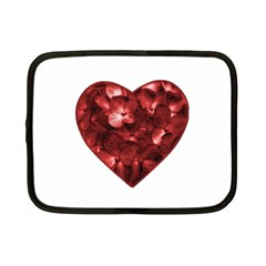 Floral Heart Shape Ornament Netbook Case (Small)