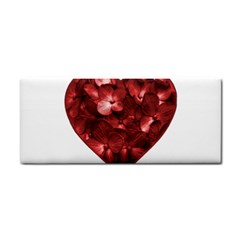 Floral Heart Shape Ornament Cosmetic Storage Cases