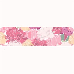 Peonies Flower Floral Roes Pink Flowering Large Bar Mats