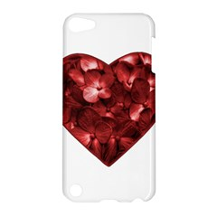 Floral Heart Shape Ornament Apple iPod Touch 5 Hardshell Case
