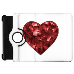 Floral Heart Shape Ornament Kindle Fire HD 7
