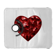 Floral Heart Shape Ornament Galaxy S3 (Flip/Folio)