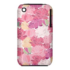 Peonies Flower Floral Roes Pink Flowering iPhone 3S/3GS