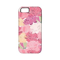 Peonies Flower Floral Roes Pink Flowering Apple iPhone 5 Classic Hardshell Case (PC+Silicone)