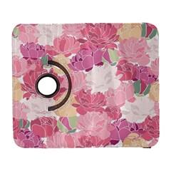 Peonies Flower Floral Roes Pink Flowering Galaxy S3 (Flip/Folio)