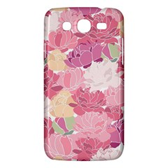 Peonies Flower Floral Roes Pink Flowering Samsung Galaxy Mega 5.8 I9152 Hardshell Case